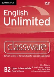English Unlimited Upper Intermediate Classware, Tilbury Alex, Hendra Leslie Anne