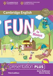 Fun for Movers Presentation Plus DVD, Robinson Anne, Saxby Karen