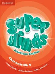 Super Minds American English 4 Class Audio CD, Puchta Herbert, Gerngross Günter, Lewis-Jones Peter