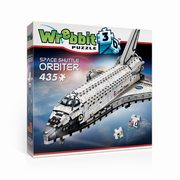 Wrebbit puzzle 3D Space shuttle orbiter,