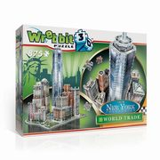 Puzzle 3D Nowy Jork, Downtown World Trade 875,