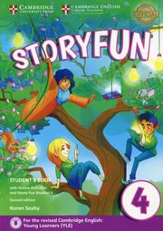Storyfun for Movers 4 Student's Book with Online Activities and Home Fun Booklet 4, Saxby Karen