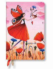 Kalendarz 2017-18 18-mc Poppy Field Mini Hor,