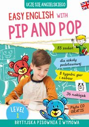Easy English with Pip and Pop Level 1 + CD, Ryterska-Stolpe Izabela